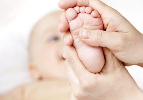 Problemas comunes en los pies de los bebés